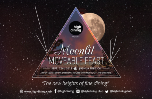 Moonlit Movable Feast Joshua Tree