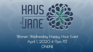 Haus of Jane Women Wednesday 4/1