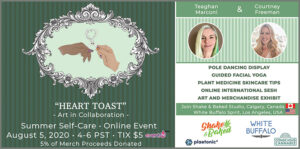 Heart Toast Event with Shake & Baked and White Buffalo Spirit